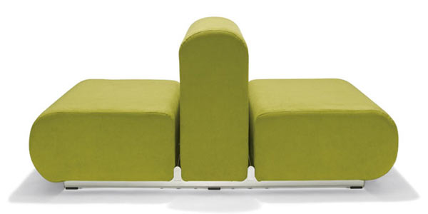 Двустороннее кресло knoll kids® — Suzanne Double Lounge Chair — A Fabric