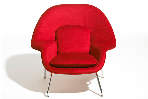 Стул knoll kids® — Child's Womb Chair — Grade B Fabric