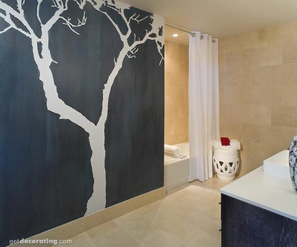 Модерн в дизайне ванной комнаты