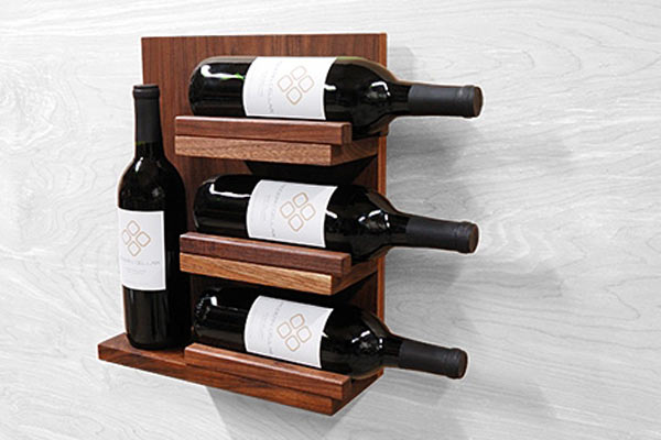 Винная полка Modern Cellar — FLOAT Wall Shelf Mini
