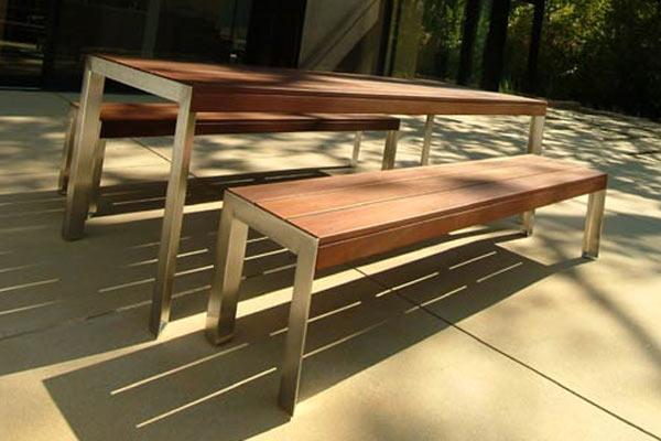 Скамейка Modern Outdoor — 5' Etra Small Bench