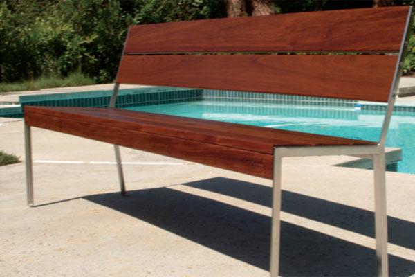 Скамейка Modern Outdoor — Etra Settee