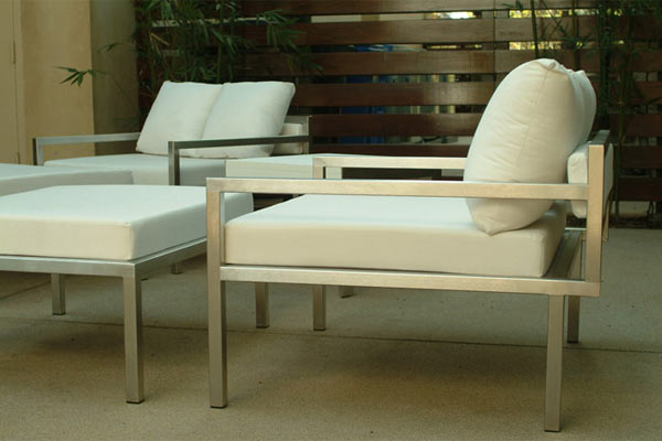 Стул Modern Outdoor — Talt Low Lounger Chair