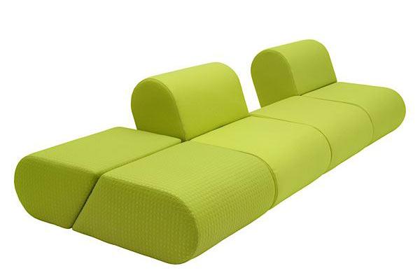 Модульный диван HEART — Super-simple modular sofa