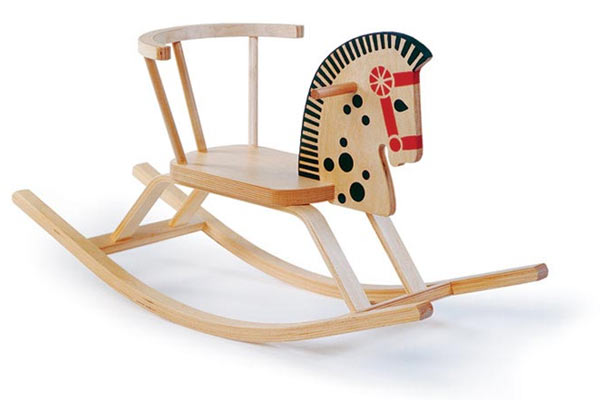 Лошадка-качалка OFFI — Baltic Rocking Horse Chair