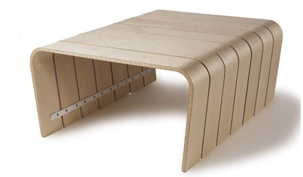 Стол для переговоров OFFI — Big Rib Table