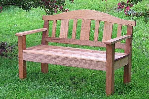 Садовая скамья Shackleton Thomas — classic appalachian mountain bench