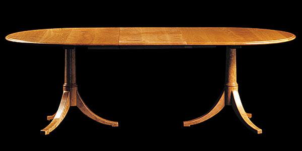 Стол Shackleton Thomas — classic josh`s extending pedestal table