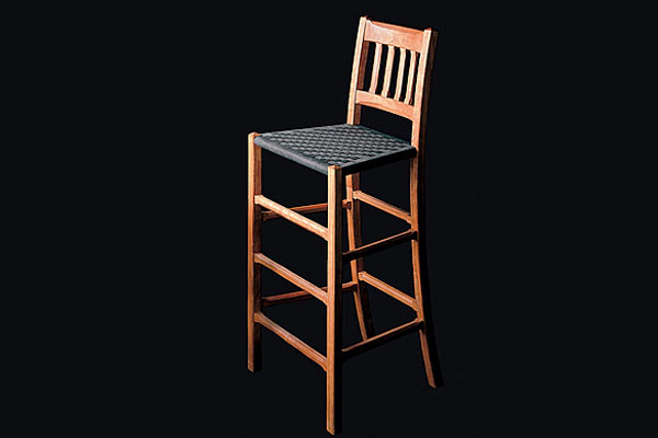 Стул Shackleton Tomas — cottage barstool with back