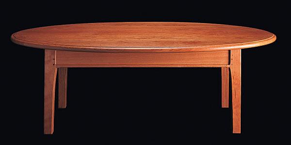 Кофейный стол Shackleton Tomas — cottage oval coffee tabel