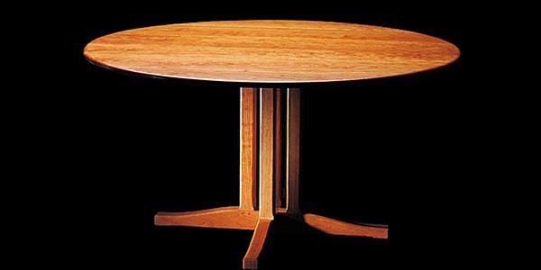 Стол Shackleton Tomas — cottage pedestal dining tabel