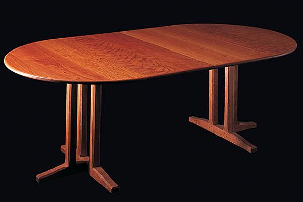 Стол Shackleton Tomas — cottage pedestal extending tabel