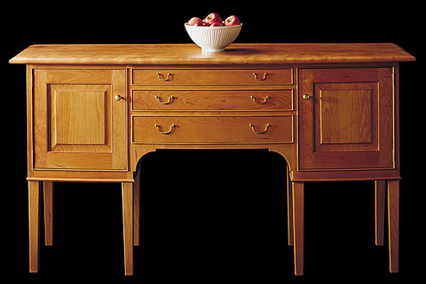 Бюро Shackleton Thomas — english line chateauguay bowfront sideboard