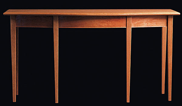 Стол Shackleton Thomas english line single bowfront sideboard