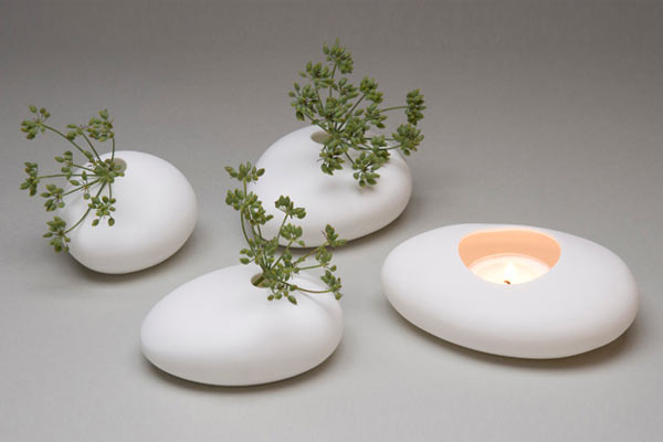 Плоская ваза Shine Labs — Rocca Vase Set
