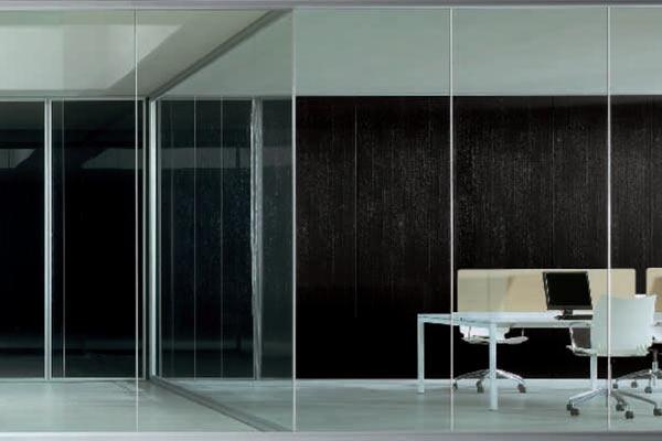 Офисные перегородки Wall.Up от фабрики Babini