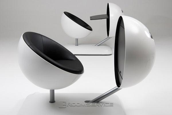 Футуристическая офисная мебель — Globus Station