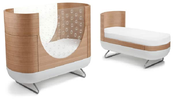 От пеленок до школы кроватка Ubabub's Modern Eco Pod