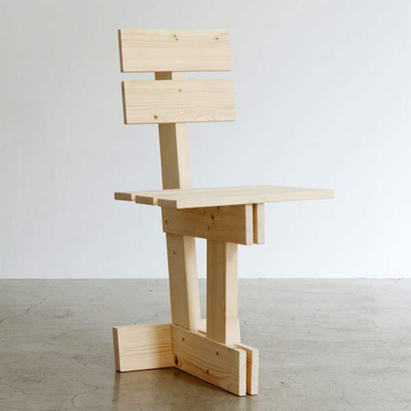 Разборный стул — Max Lamb for E&Y