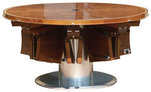 Стол Fletcher Rising & Furling Table 8 seat.