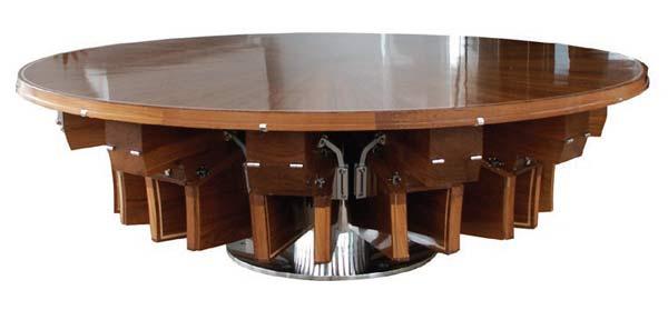 Стол Fletcher Rising & Furling Table 12 seat.
