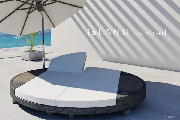 Лежанка IsLAND Sunbed.