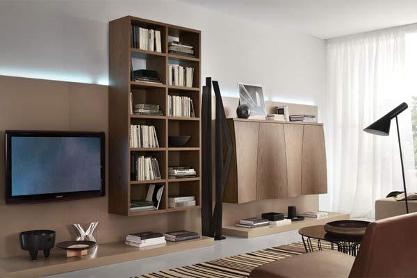 Комплекты мебели для гостиной на 2011 год от итальянской фабрики TUMIDEI.