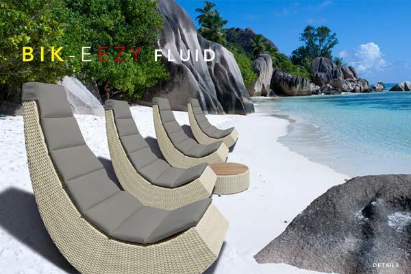 Пляжные кресла-качалки BIK-EEZY FLUID.