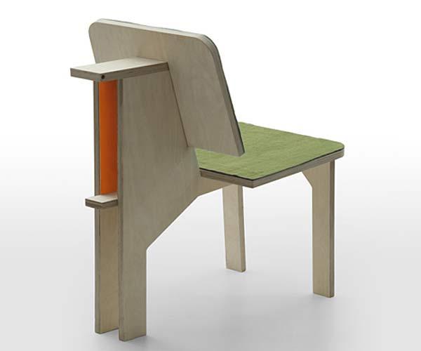 Рабочее место в одном стуле Double Side.