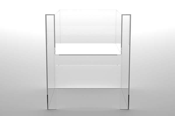 Акриловая мебель-невидимка Invisibles Light.