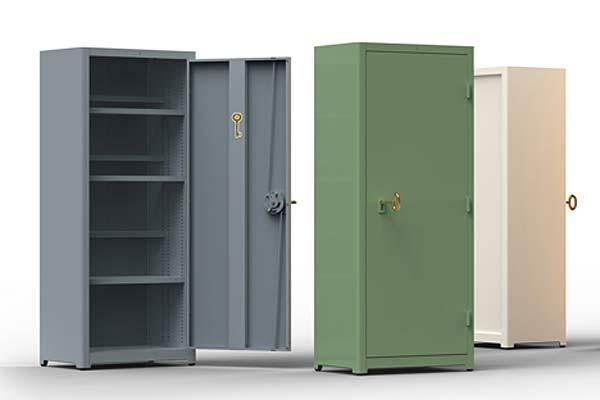 Офисные шкафы от Job Cabinet с «золотыми ключиками».