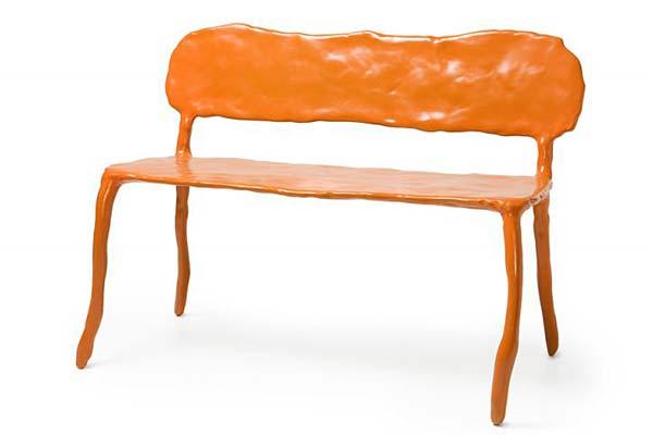 Мебель из клея и глины Clay series.