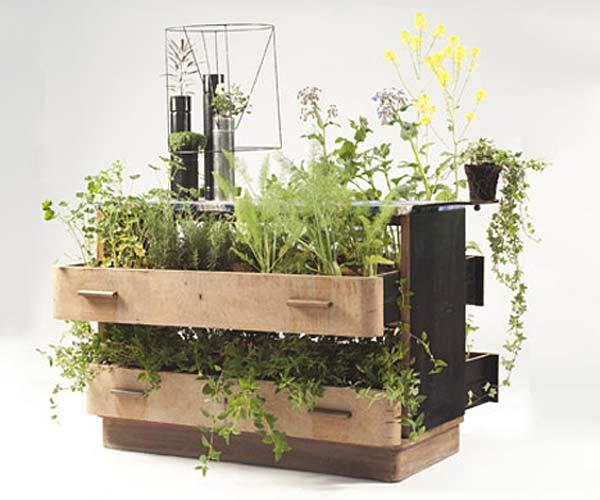 Утилизация мебели в проекте Da Morto A Orto.