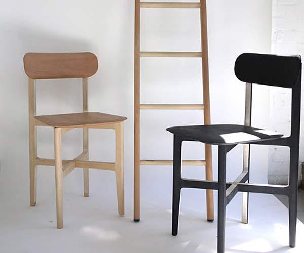 Самый легкий деревянный стул 1.3 Chair.