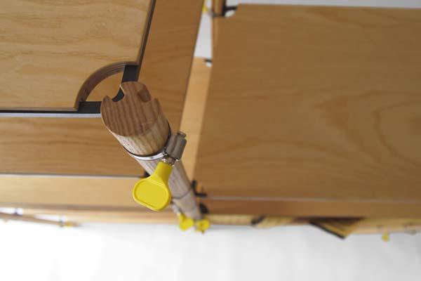 Модульный стеллаж Hose Clip Shelving.