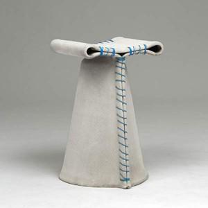 Стулья из парусины Stitching Concrete.