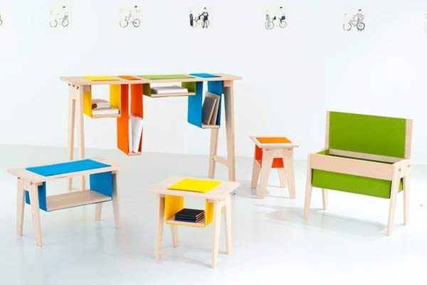Мебель Felt & Gravity.
