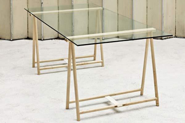 Стол Spade Trestle Table.