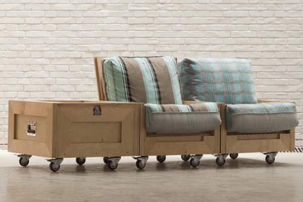 Складная мебель Concierge из Китая.