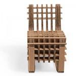 Детская мебель из картона Build Up.