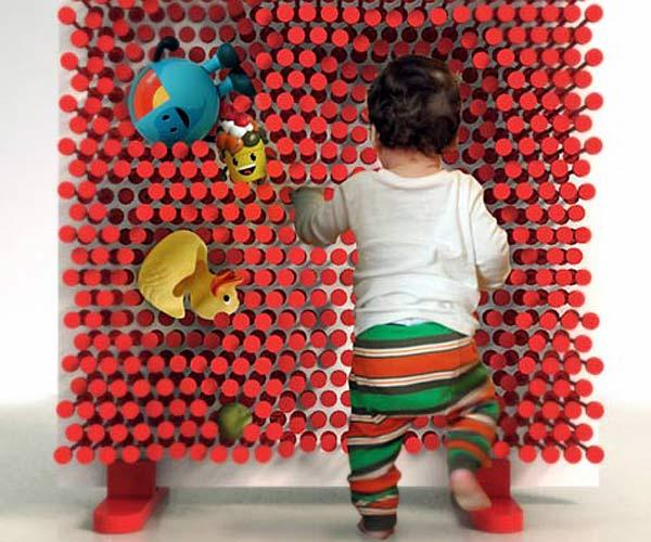 Детская развивающая стенка Pin Pres.