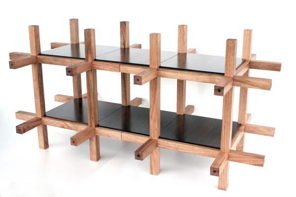 Японская модульная мебель Chidori Furniture.