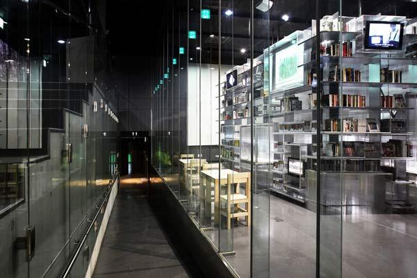 Библиотека XXI века Nam June Paik Library.