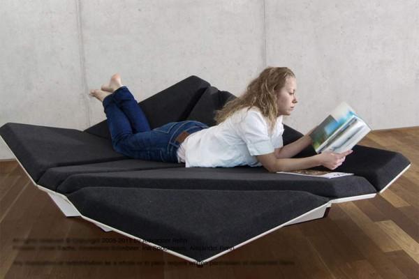 Cay Sofa — новая эргономика диванов.