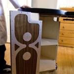 Подвижная мебель для домашнего интерьера.